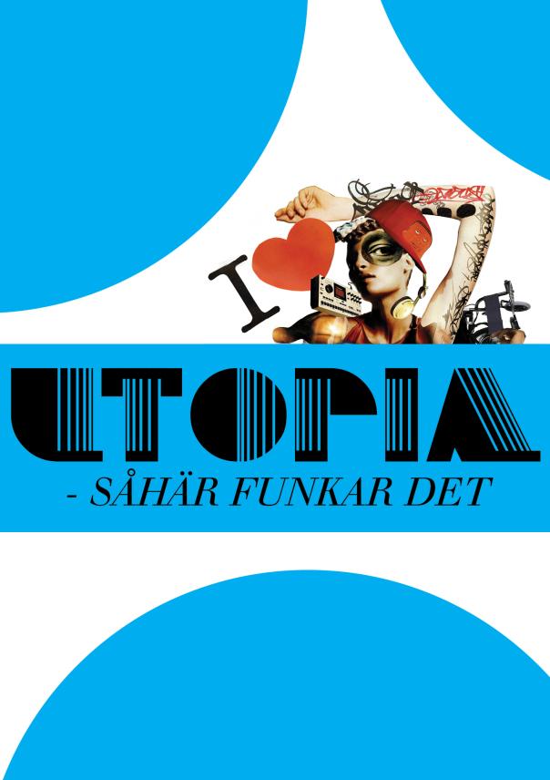 bilden visar framsidan av utopias handbok.