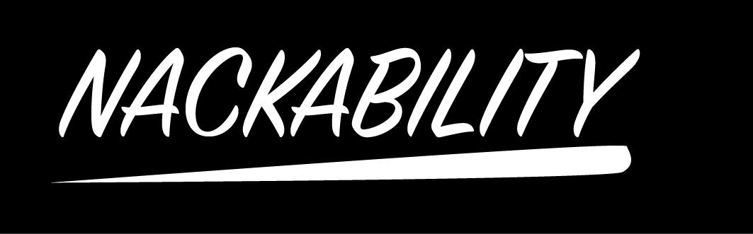 nackability logga svartvit